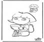 Finisci il disegno Dora