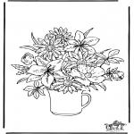Disegni da colorare Vari temi - Fiore 2