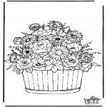Disegni da colorare Vari temi - Fiore 3
