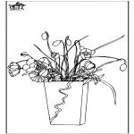Disegni da colorare Vari temi - Fiore 7