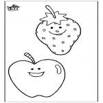Disegni da colorare Vari temi - Frutta 2