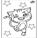 Disegni da colorare Animali - Gatto 3