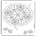 Disegni da colorare Mandala - Geomandala 8