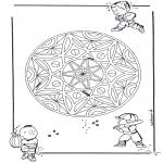 Disegni da colorare Mandala - Geomandala - bambini
