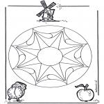 Disegni da colorare Mandala - Geomandela 2
