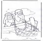 Gesù nella barca