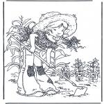 Disegni da colorare Vari temi - Giardinaggio