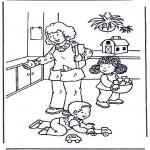 Disegni per i piccini - Gioca con i giocattoli