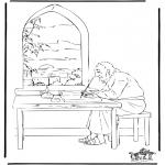 Disegni biblici da colorare - Giovanni