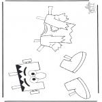 Disegni per i piccini - Gli abiti di Elmo 1
