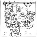 Disegni da colorare Animali - Gli animali della fattoria