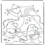 Disegni per i piccini - Gli orsetti del cuore 1