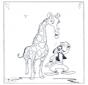 Goofy e la giraffa