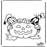 Disegni da colorare Temi - Halloween 2