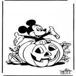 Disegni da colorare Temi - Halloween 3