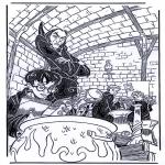 Personaggi di fumetti - Harry potter 3