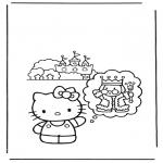 Personaggi di fumetti - hello kitty 11