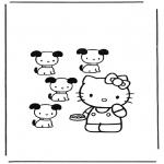 Personaggi di fumetti - Hello Kitty 12