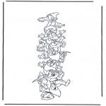 Personaggi di fumetti - I sette nani
