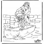 Disegni biblici da colorare - Il figlio perduto 3