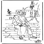 Disegni biblici da colorare - Il figlio perduto 5