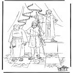 Disegni biblici da colorare - Il panettiero egiziano