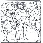 Disegni da colorare Vari temi - Il Re dei folletti