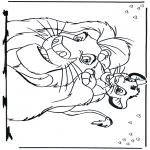 Personaggi di fumetti - Il Re Leone 2