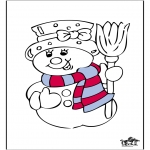 Disegni da colorare Inverno - Inverno 16