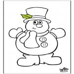 Disegni da colorare Inverno - Inverno 17