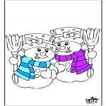 Disegni da colorare Inverno - Inverno 20