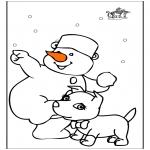 Disegni da colorare Inverno - Inverno 22