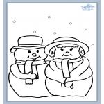 Disegni da colorare Inverno - Inverno 5