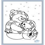 Disegni da colorare Inverno - Inverno 6