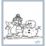 Disegni da colorare Inverno - Inverno 7