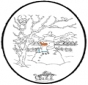 Inverno - Disegno da bucherellare 4