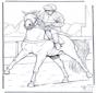 Jockey a cavallo