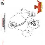 Personaggi di fumetti - Kung Fu Panda 2 - Disegna seguendo i numeri 1