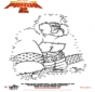 Kung Fu Panda 2 - Disegna seguendo i numeri 3