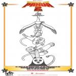 Personaggi di fumetti - Kung Fu Panda 2 Disegno 1