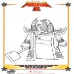 Personaggi di fumetti - Kung Fu Panda 2 Disegno 3