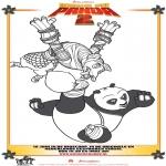 Personaggi di fumetti - Kung Fu Panda 2 Disegno 4