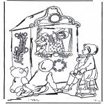 Disegni per i piccini - La baracca dei burattini