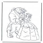 Personaggi di fumetti - La Bella e la Bestia 2