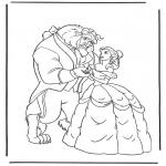 Personaggi di fumetti - La Bella e la Bestia 4