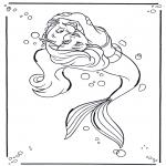 Personaggi di fumetti - La Sirenetta 1