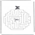 Lavori manuali - Labirinto ' farfalla e bozzolo