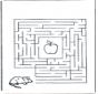 Labirinto ' topo e mela
