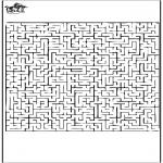 Lavori manuali - Labirinto 1