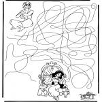 Lavori manuali - Labirinto Aladdin